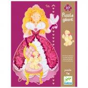 Puzzle Géant - Princesse Barbara, 37 pièces