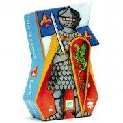Puzzle - Le chevalier au dragon, 36 pièces