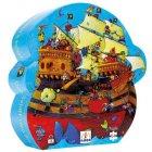 Puzzle - Le bateau de Barberousse, 54 pièces