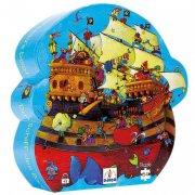Puzzle - Le bateau de Barberousse, 54 pi�ces