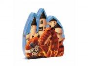 Puzzle - Le château au dragon, 54 pièces