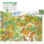 Puzzle - Dinosaures, 100 pièces