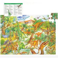 Puzzle - Dinosaures, 100 pi�ces