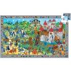 Puzzle - Chevaliers, 54 pi�ces