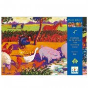 Puzzle - Couleurs de la ferme, 36 pièces