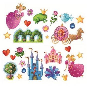 Stickers repositionnables - Princesse Marguerite
