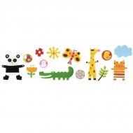 Stickers repositionnables - Les z'amis d'Amazonie