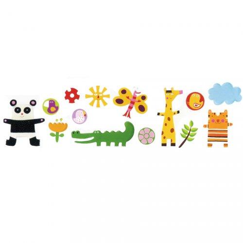Stickers repositionnables - Les z amis d Amazonie