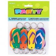 12 porte-clés sandales