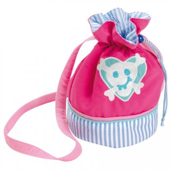 Sac baluchon Pirates roses