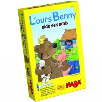 """Jeu de mémoire """"L ours Benny"""""""