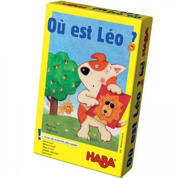 "Jeu de recherche ""Où est Léo ?"""