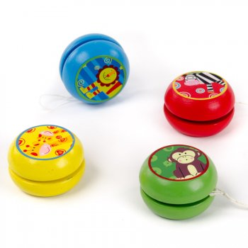 Yoyo Animal de la Jungle en Bois