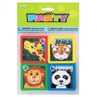 10 Puzzles � glisser animaux