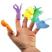 Set créatif marionnettes doigts