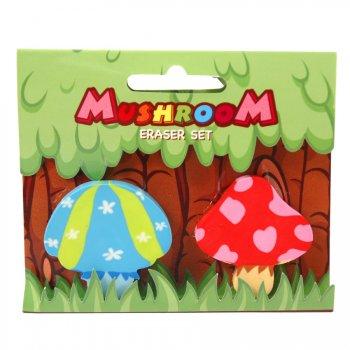 2 gommes champignons