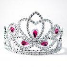 Diadème argent Princesse