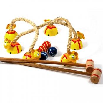 Jeu de croquet en bois (Mini)