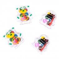 4 minis boîtes Aquarelle animaux