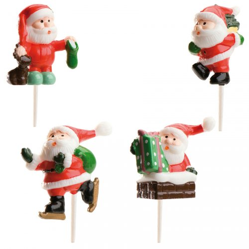 4 Pères Noël à piquer