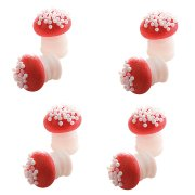 8 Minis Champignons en sucre