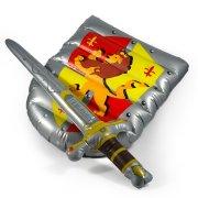 Epée et bouclier de chevalier gonflable