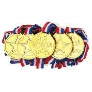 5 médailles de vainqueur