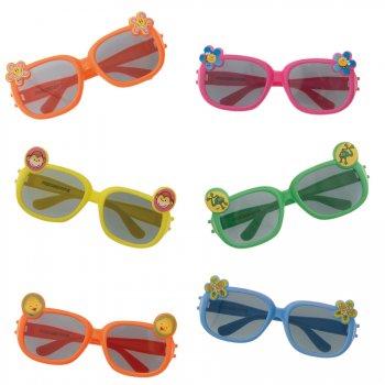 6 lunettes de soleil