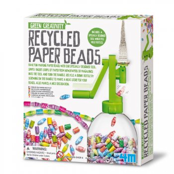 """Kit création  """"chaîne de perle en papier recyclé"""""""
