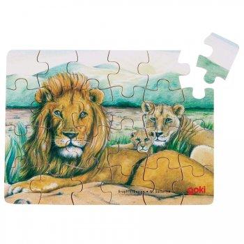 Puzzle 24 pièces Lion
