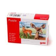 Puzzle 24 pi�ces Cerf et Biche