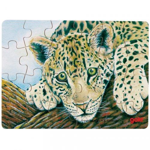 Puzzle 24 pièces Jaguar
