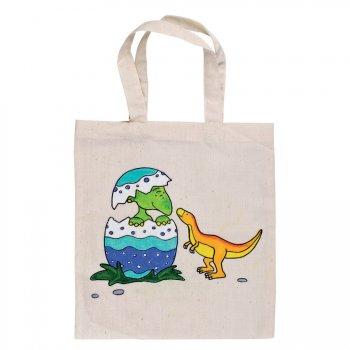 Sac personnalisable pré-imprimé Dinosaure