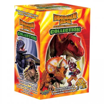 Coffret dinosaur king pour l 39 anniversaire de votre enfant annikids - Carte dinosaure king ...