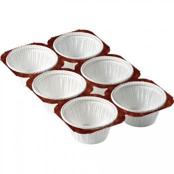 Barquette de cuisson jetables 6 Cupcakes
