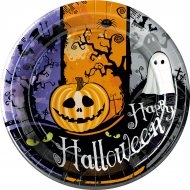 10 Assiettes Halloween Party