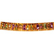 Banni�re � franges Happy Halloween Party
