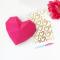 Petit Cœur Rose - Papier 3D images:#1