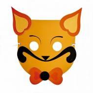 Masque Petit Chat à assembler - Papier