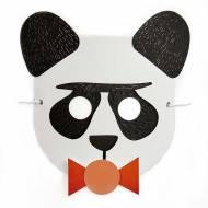 Masque Petit Panda à assembler - Papier