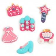 12 Décors en sucre - Little Princesse