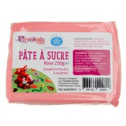 P�te � sucre 250g - Rose