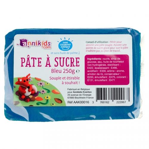 Pâte à sucre 250g - Bleu