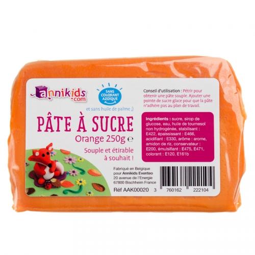 Pâte à sucre 250g - Orange