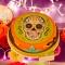 Disque sucre Halloween Calavera images:#1