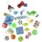 24 Petits Jouets Garçons - Calendrier de l'Avent Tissu images:#0