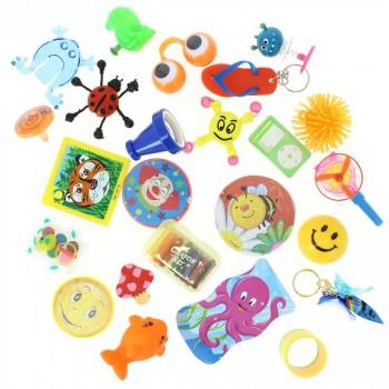 24 Petits Jouets Mixtes (6 à 9,5 cm maxi) - Calendrier de l Avent