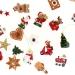 Set 24 Mini Cadeaux Déco (3 cm) + Sac coton - Calendrier de l Avent en bois. n°3