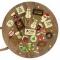 24 Petits Cadeaux Chocolats (6 cm maxi) - Calendrier de l'Avent images:#1