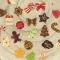 24 Mini Cadeaux Chocolats (3.2 cm maxi) - Calendrier de l'Avent images:#1